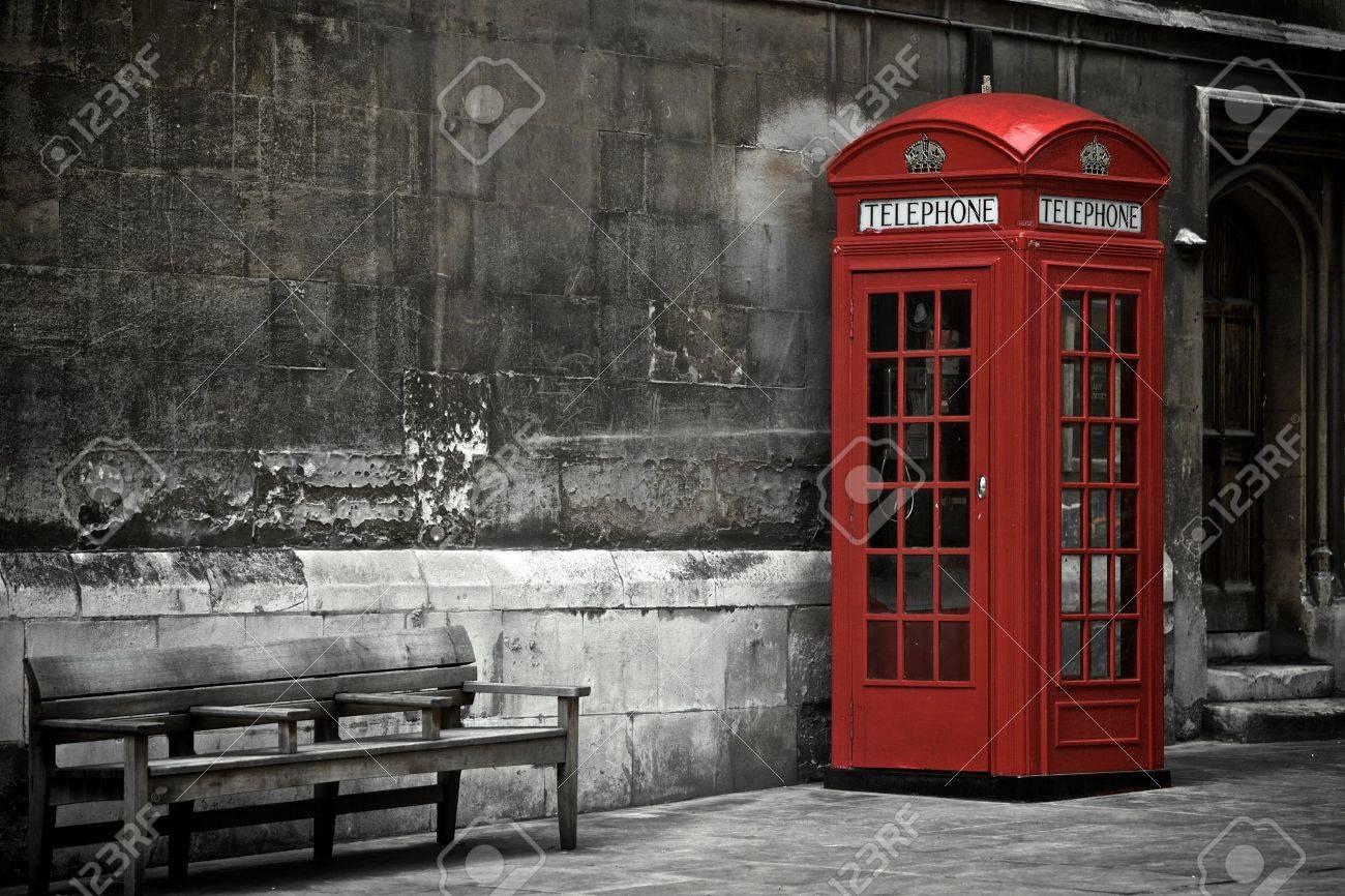 British Phone Booth in London, United Kingdom - 13910123