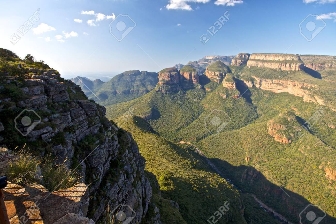 Blyde River Canyon and the three rondovels in Mpummalanga, South Africa - 14950572
