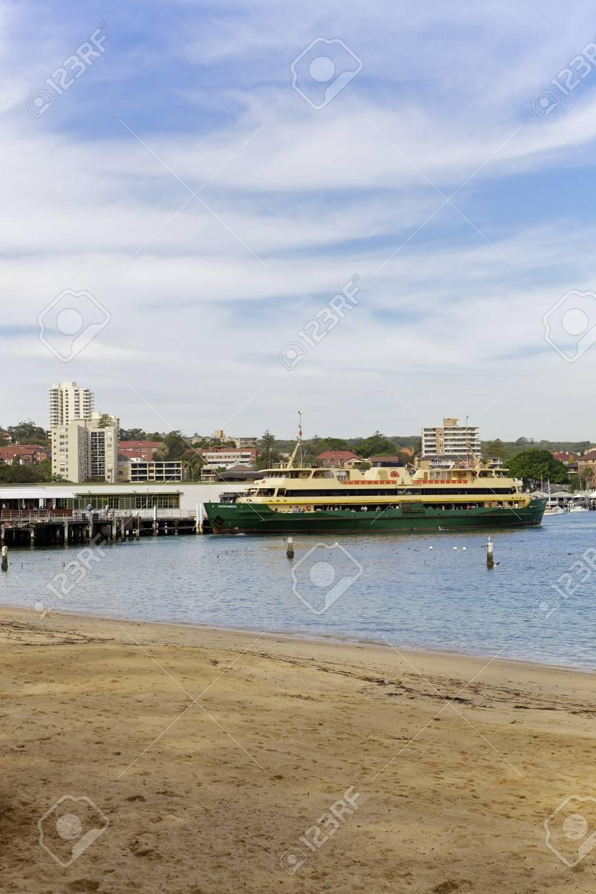 Manly Beach Ferry Station In Sydney Australia Stock Photo 15740726