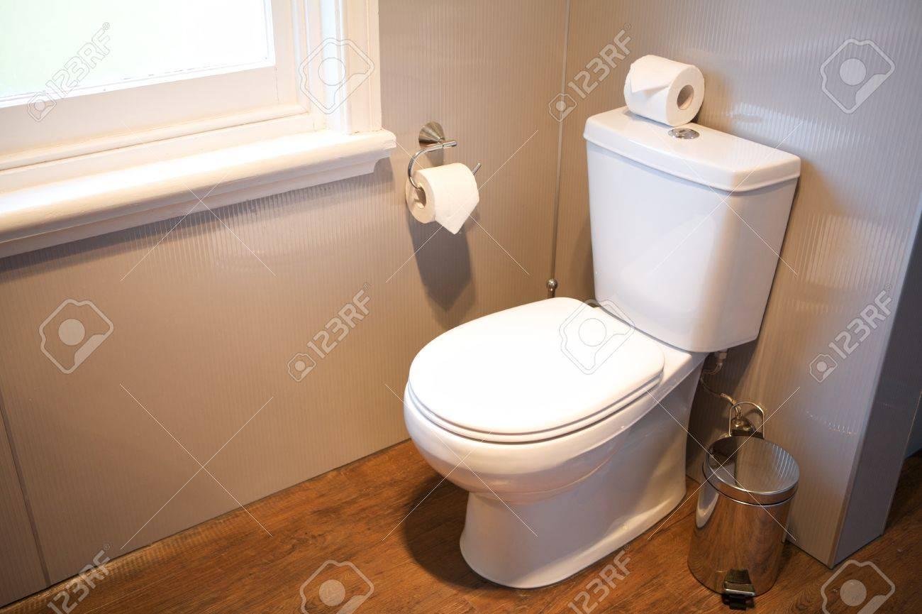 Toilet interior, Hotel Room Stock Photo - 16970941