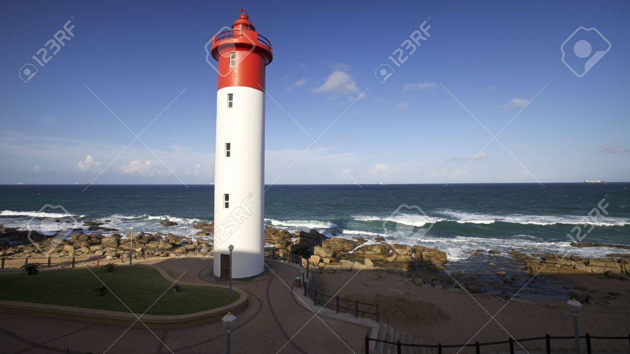 Lighthouse in Umhlanga Near Durban on the East Coast of South Africa - 16970946