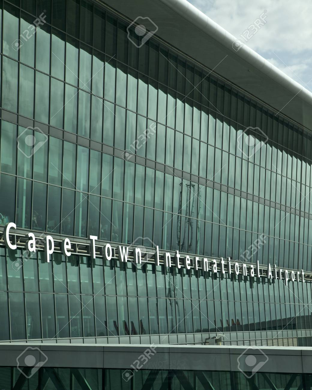 Airport in Cape Town, South Africa - 24483425