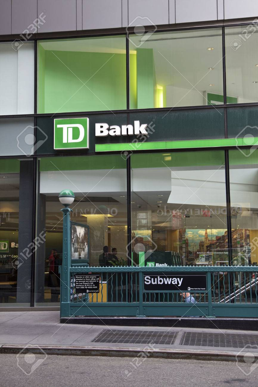 TD Bank in Manhattan, New York, United States of America