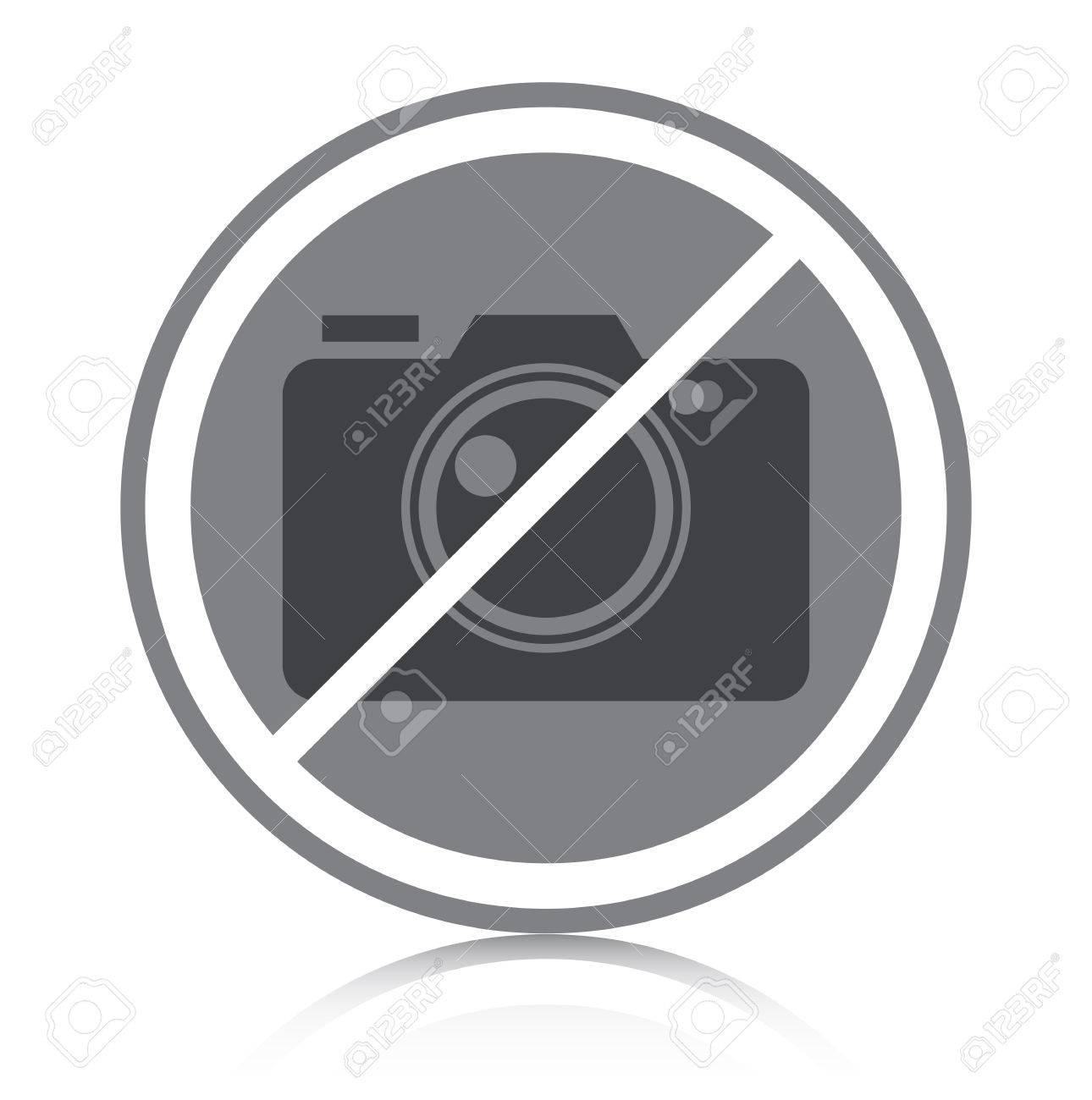 Prohibited symbol with white background - 23112549