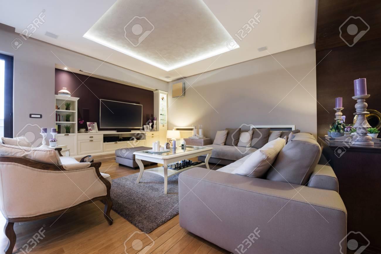 Intérieur D\'un Salon De Luxe Banque D\'Images Et Photos Libres De ...