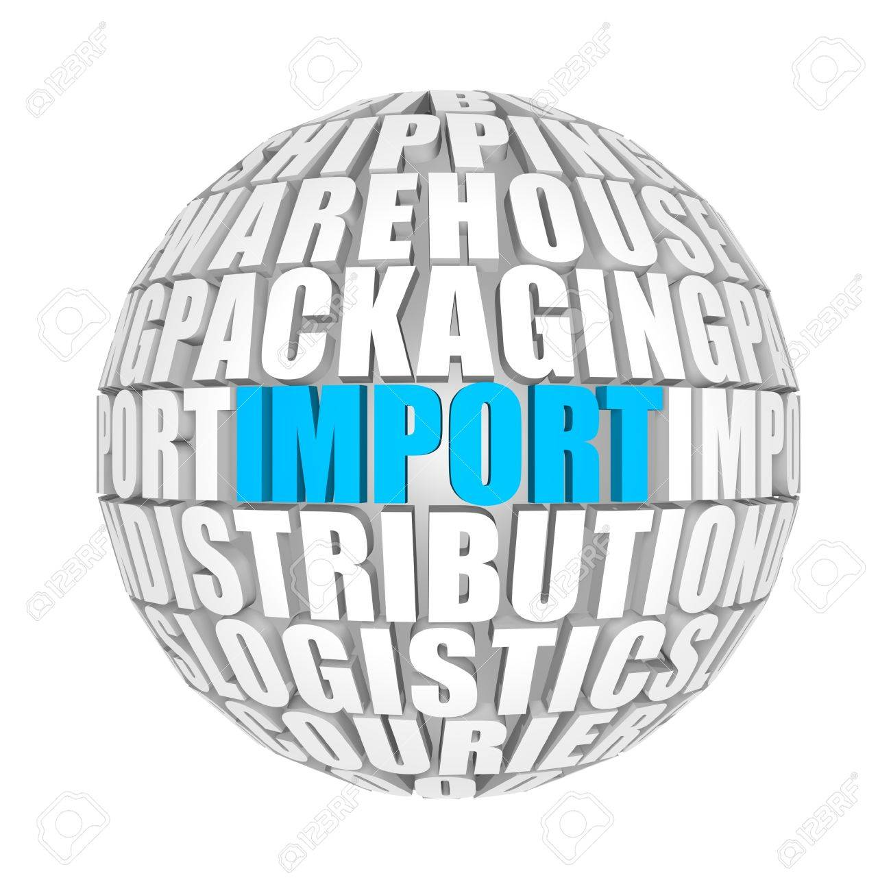 import Stock Photo - 12587890