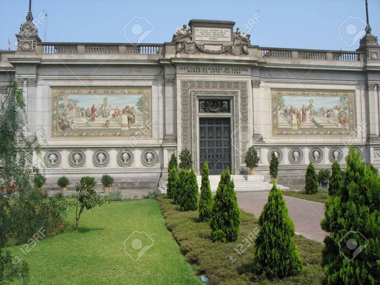 Museum of Italian Art, Lima, Peru Stock Photo - 1373670