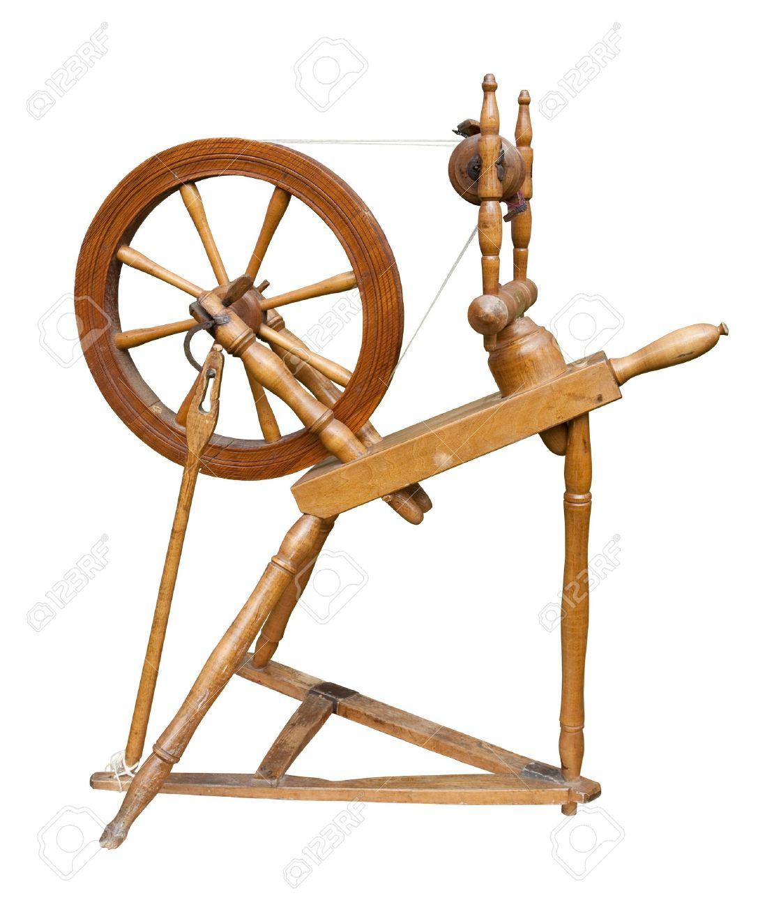 Old Spinning Wheel Stock Photo Picture And Royalty Free Image Image 7923976