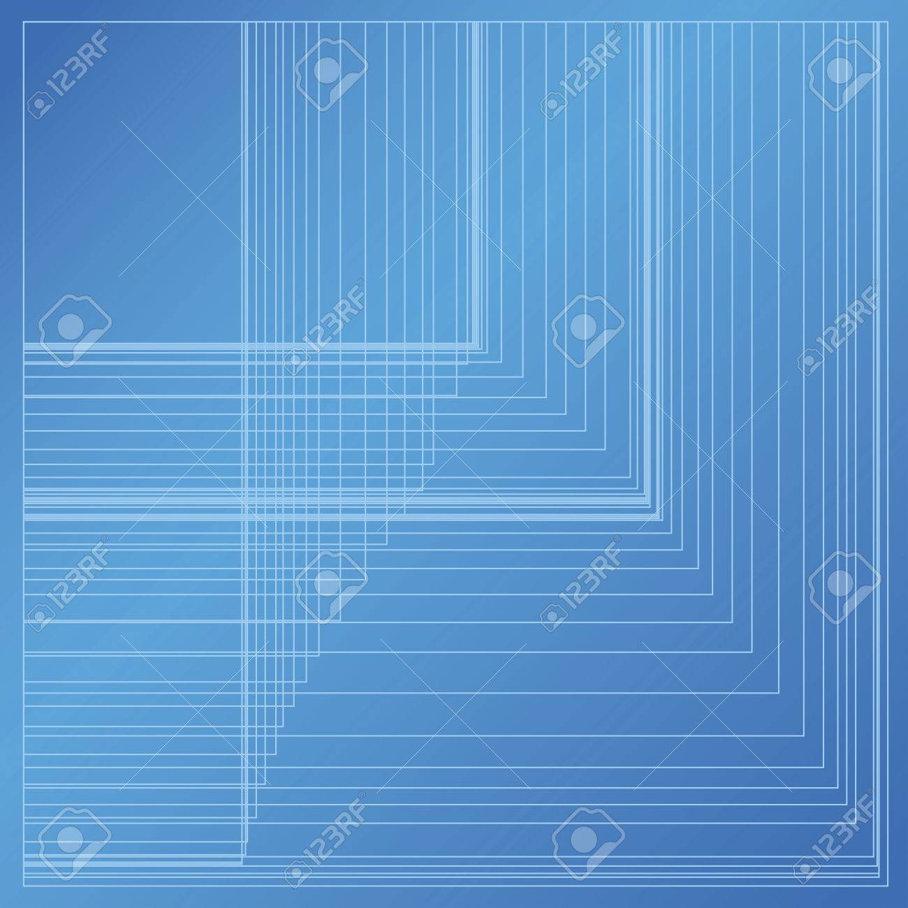 Blueprint background with abstract random rectangle grid on blue blueprint background with abstract random rectangle grid on blue paper stock vector 60146262 malvernweather Choice Image