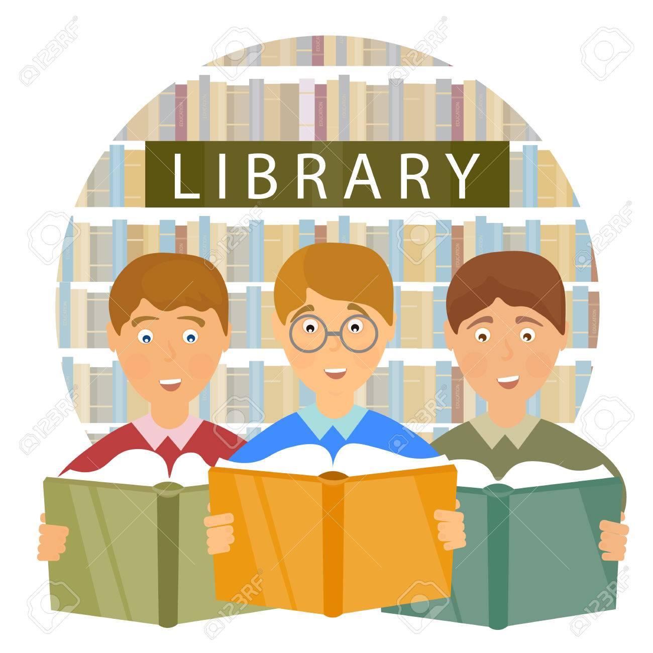 Bibliotheque De L Ecole Les Enfants A Lire Des Livres