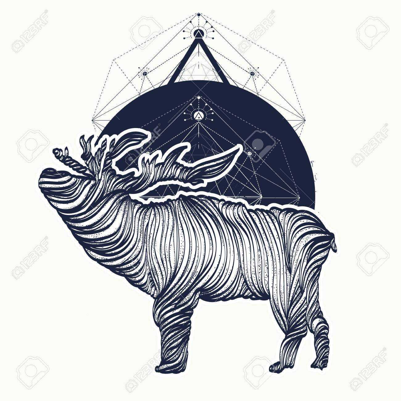 Deer tattoo geometrical style graphics adventure travel deer tattoo geometrical style graphics adventure travel outdoors symbol biocorpaavc Images