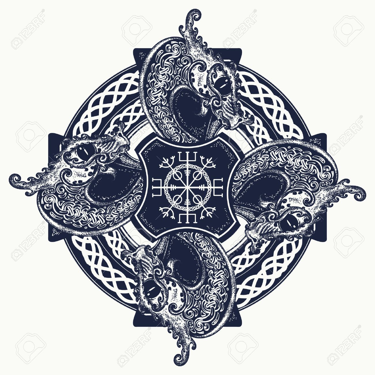 Celtic Cross Art Designs