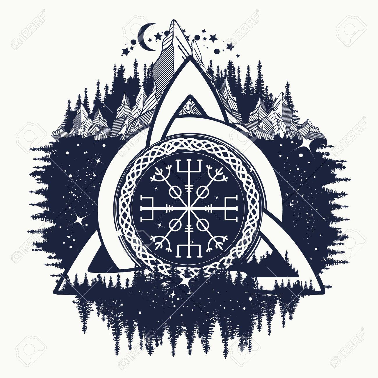 Celtic warrior symbol tattoo images for tatouage celtic warrior symbol tattoo intended for celtic trinity knot helm of awe aegishjalmur biocorpaavc Gallery