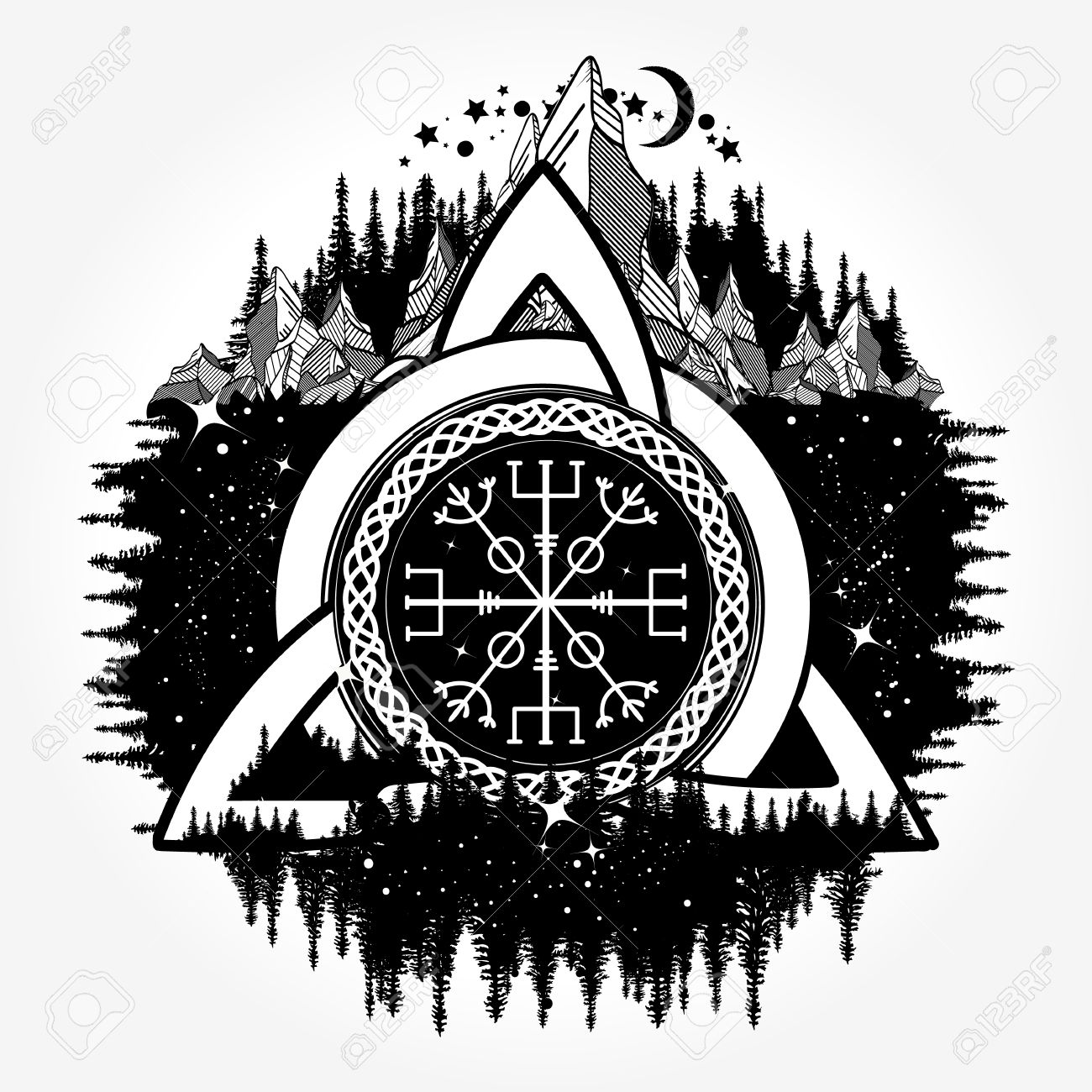 Celtic tattoo boho style t shirt design royalty free cliparts celtic tattoo boho style t shirt design stock vector 84740529 biocorpaavc Gallery