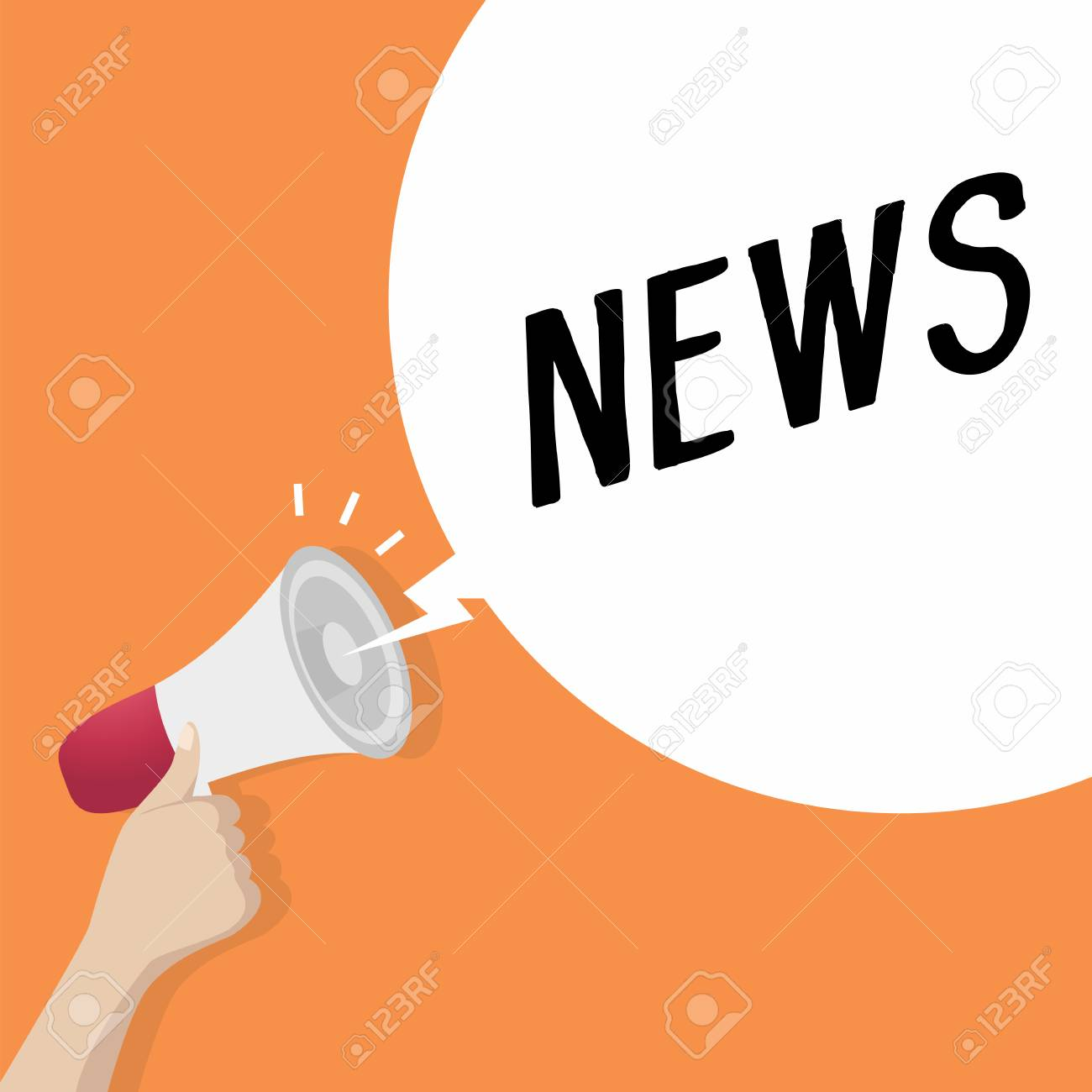 hand holding loudspeaker or megaphone with speech bubble news royalty free cliparts vectors and stock illustration image 98713373 hand holding loudspeaker or megaphone with speech bubble news