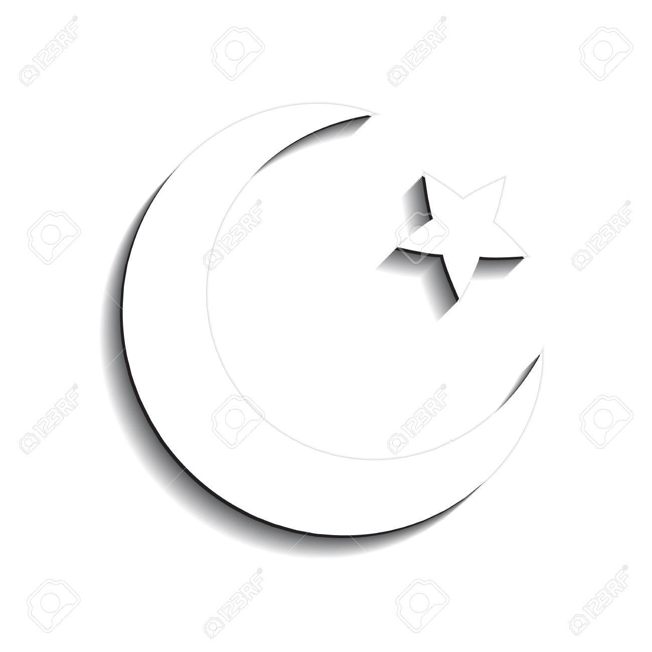 Star and crescent symbol of islam icon royalty free cliparts star and crescent symbol of islam icon stock vector 57867983 buycottarizona Gallery