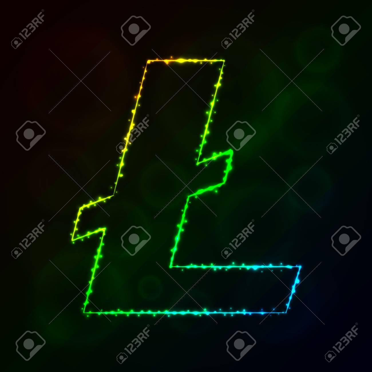Litecoin Vector Icon Litecoin Symbol For Your Web Site Design