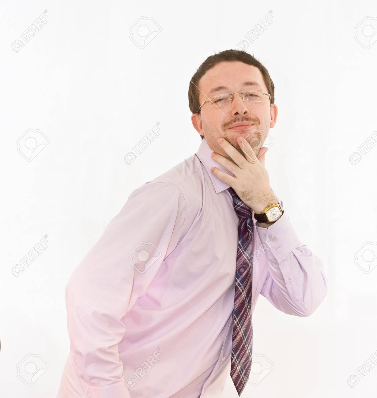 funny looking man Stock Photo - 2626642