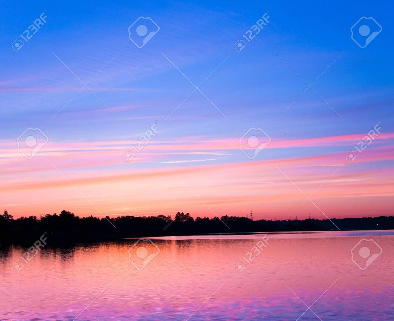 Pink sunset Stock Photo - 7951411