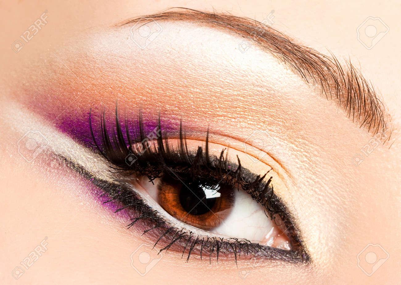 close-up of beautiful womanish eye Stock Photo - 7459680