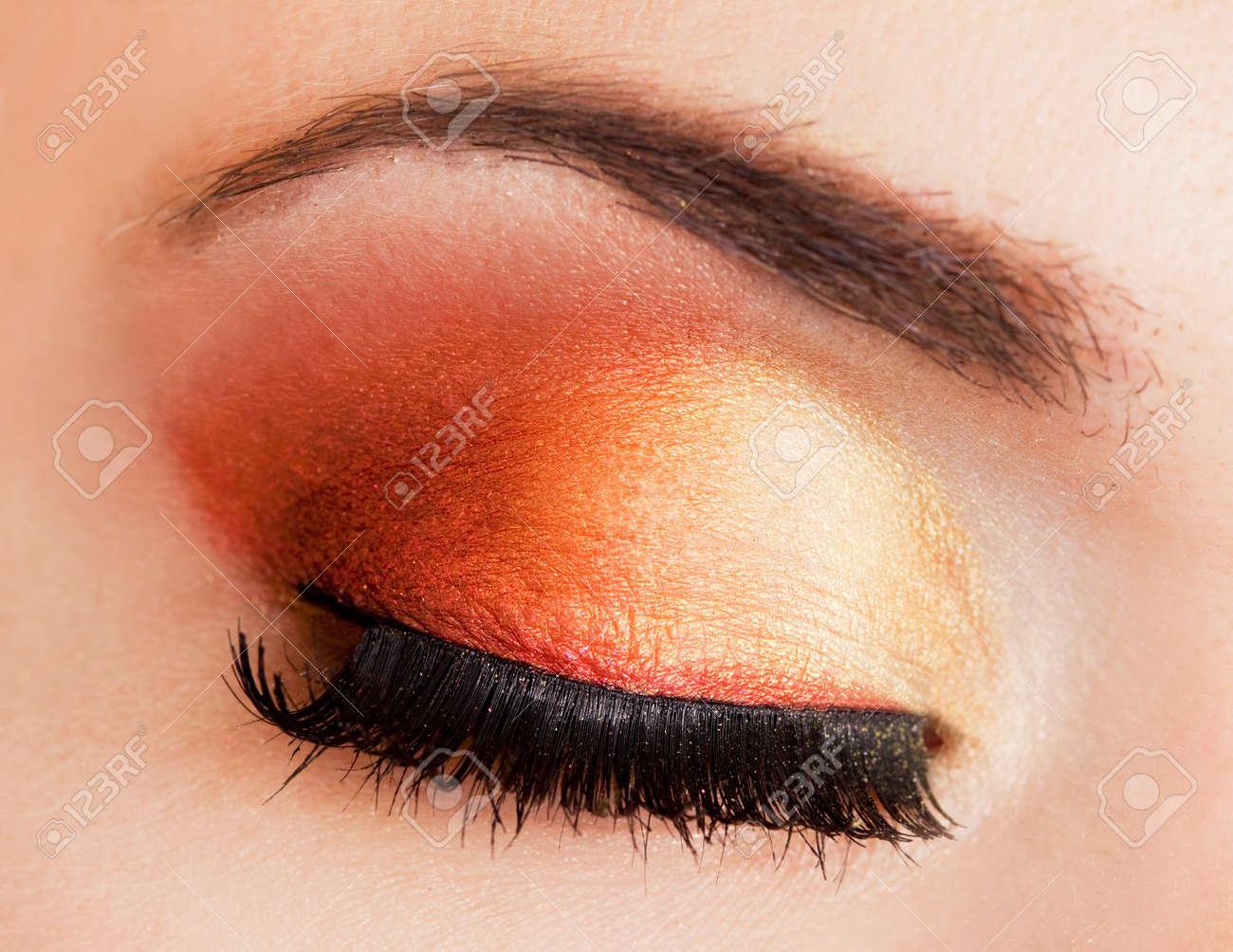 close-up of beautiful womanish eye Stock Photo - 7781830