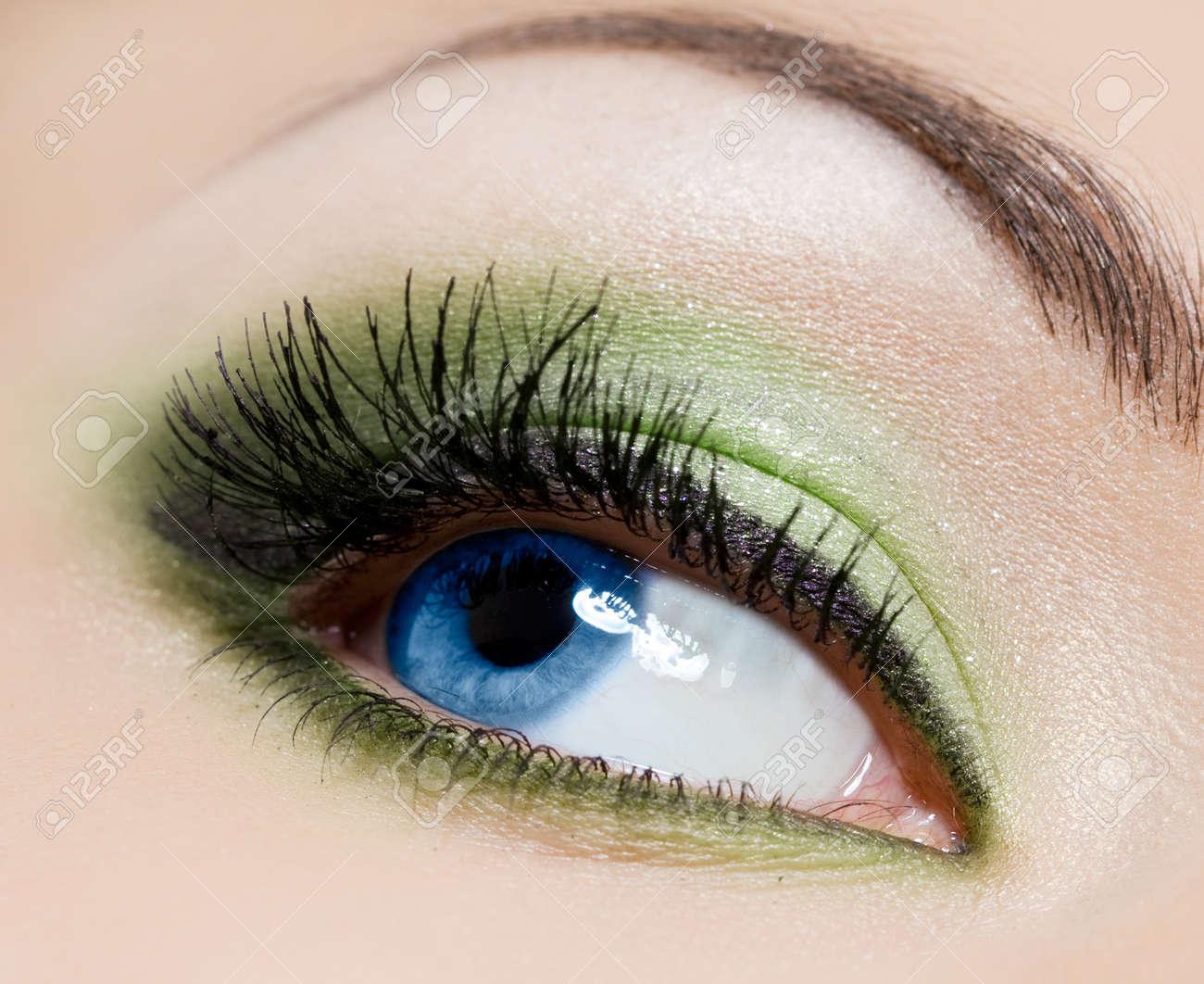 close-up of beautiful womanish eye Stock Photo - 8263287