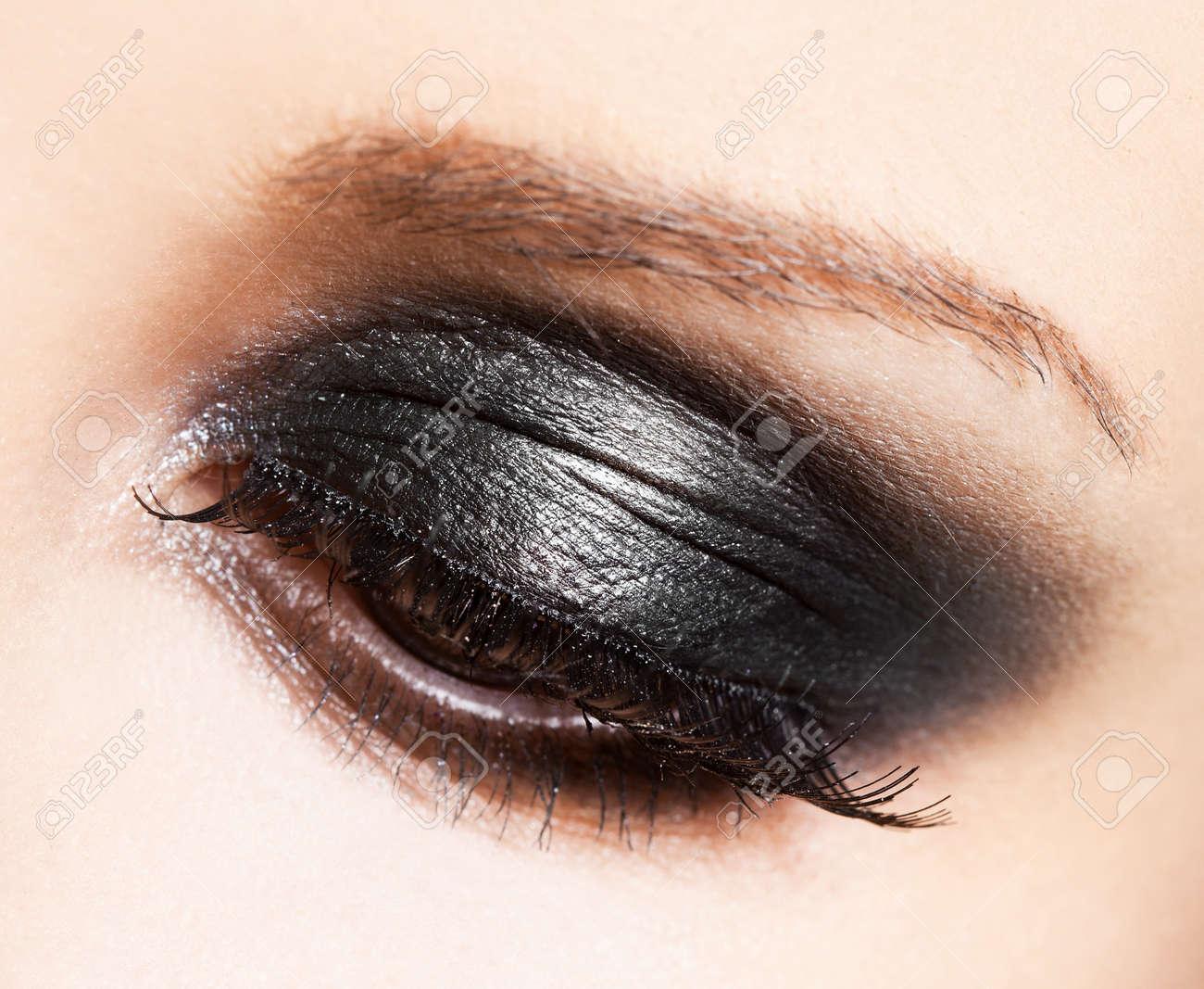 close-up of beautiful womanish eye Stock Photo - 10823624