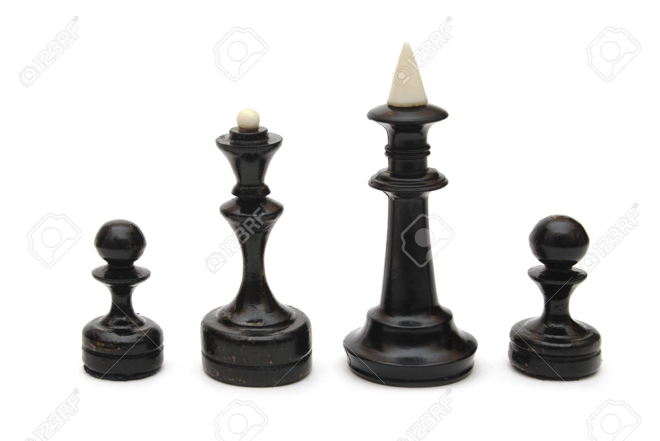 chess piece isolated on white background Stock Photo - 8787940