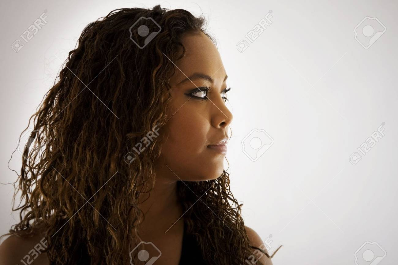 Stock image. Portrait of a young woman. Stock Photo - 6526113
