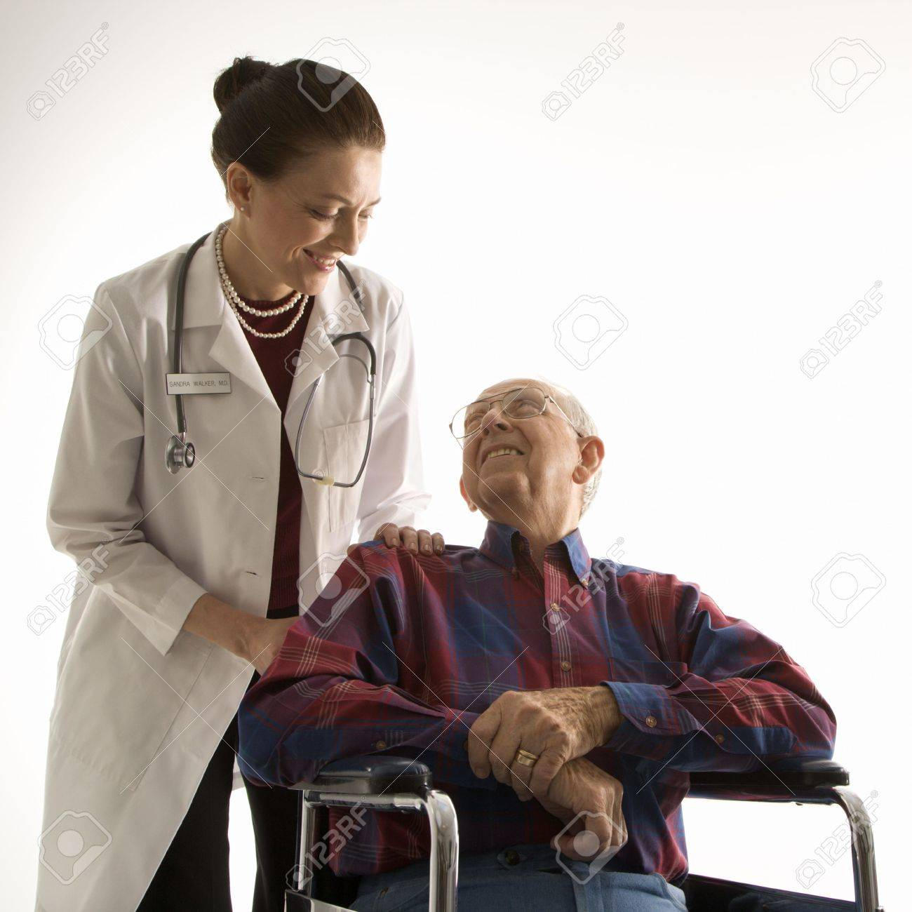 Man and doctor. Stock Photo - 1806687