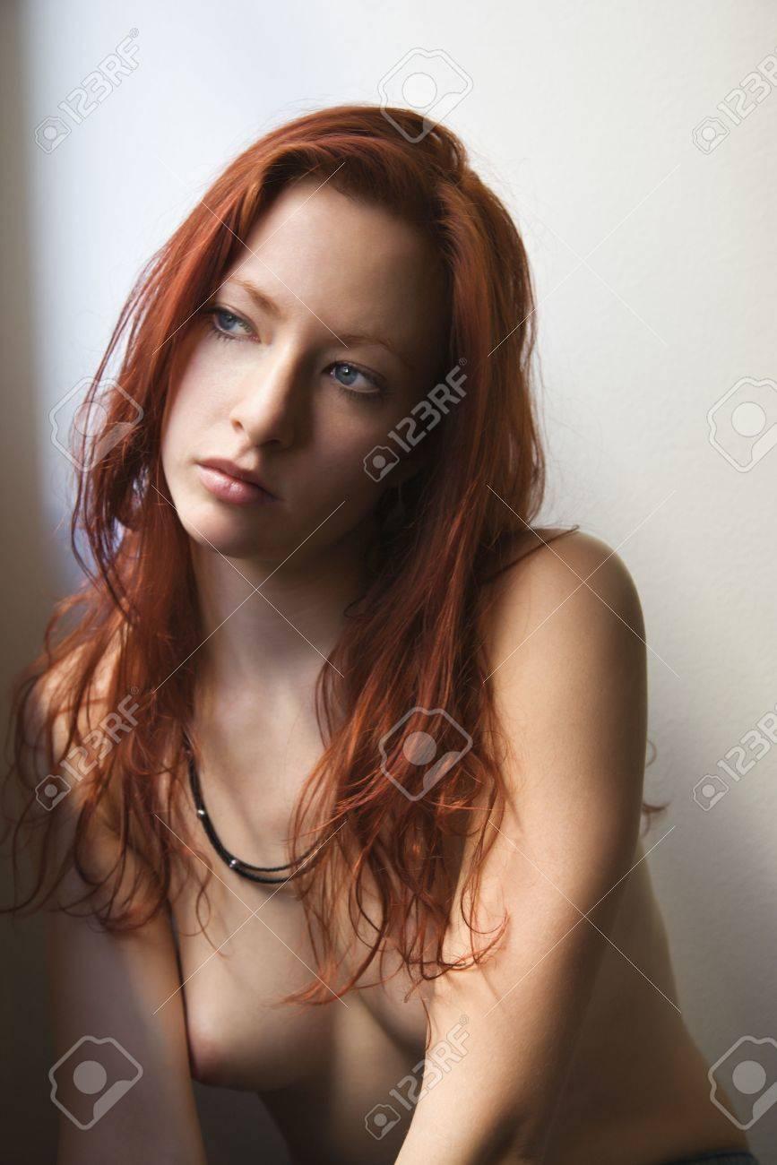 Topless redhead pics
