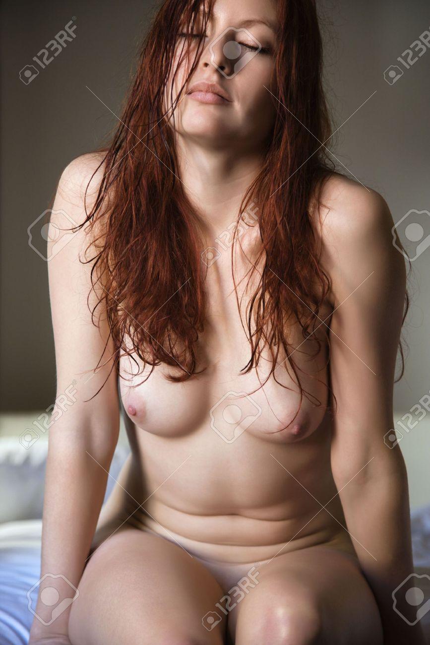 Young nude women redhead