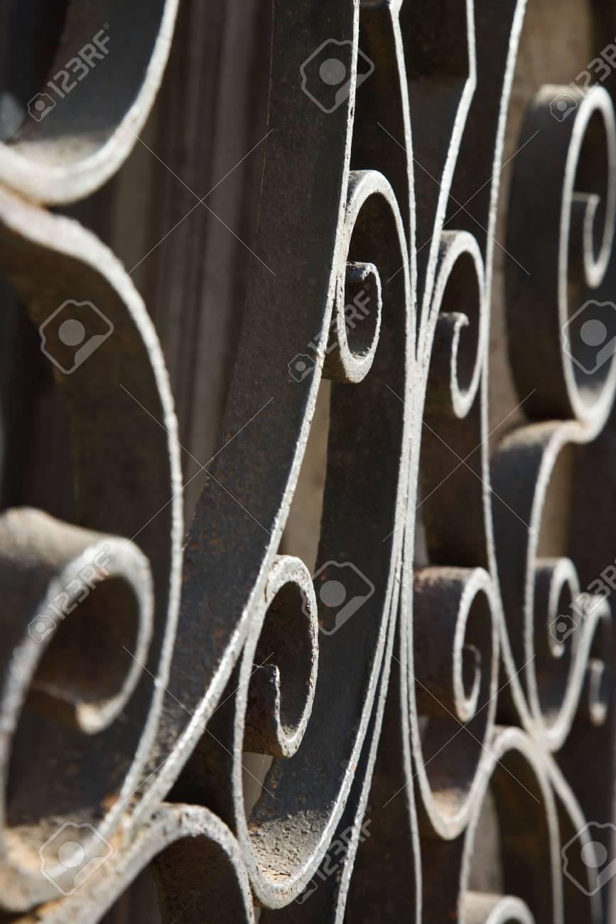Wrought Iron Scrolls