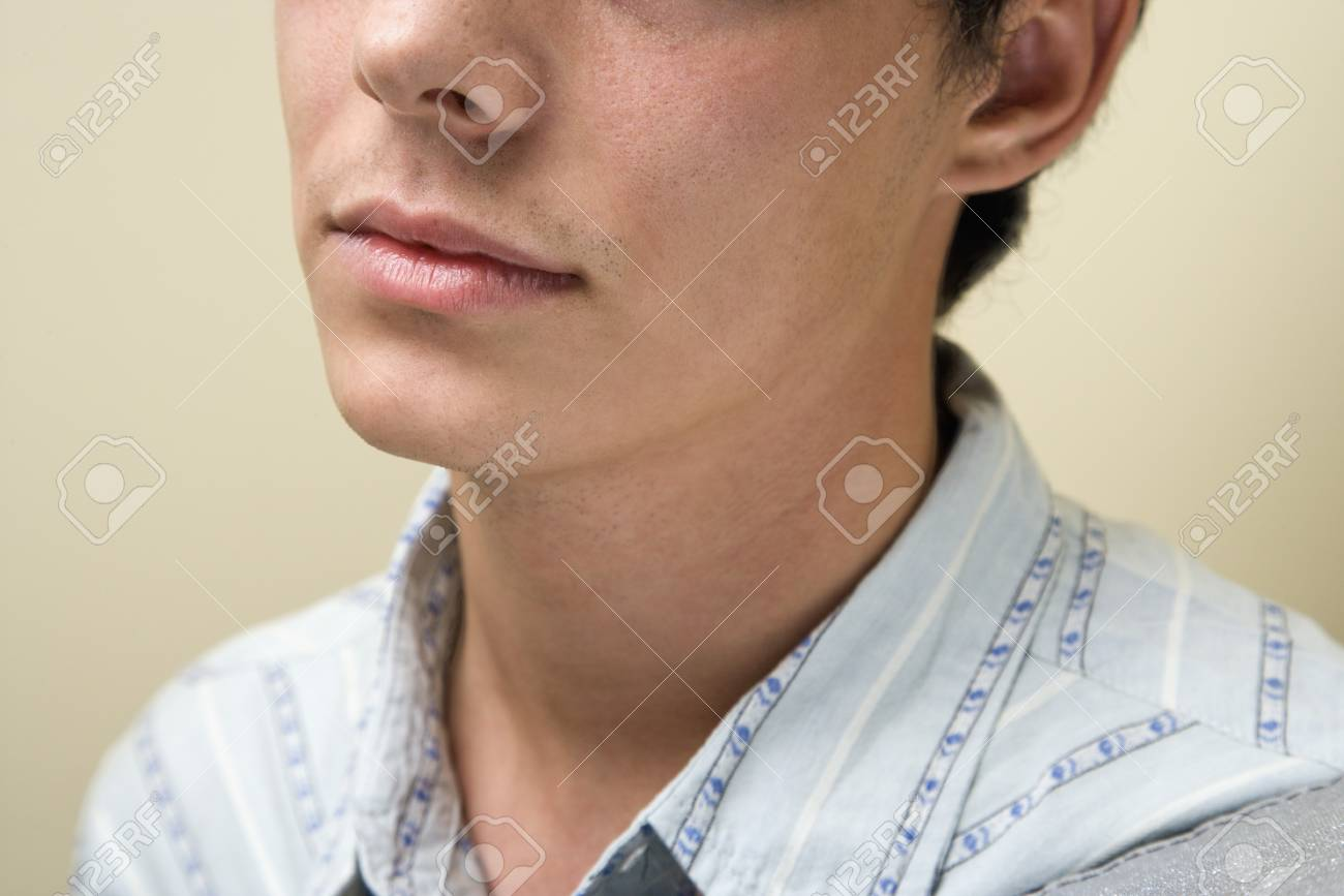Close up portrait of young Caucasian man. Stock Photo - 6924732