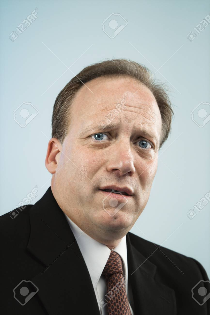 Head and shoulder portrait of middle aged  Caucasian businessman. Stock Photo - 6924743