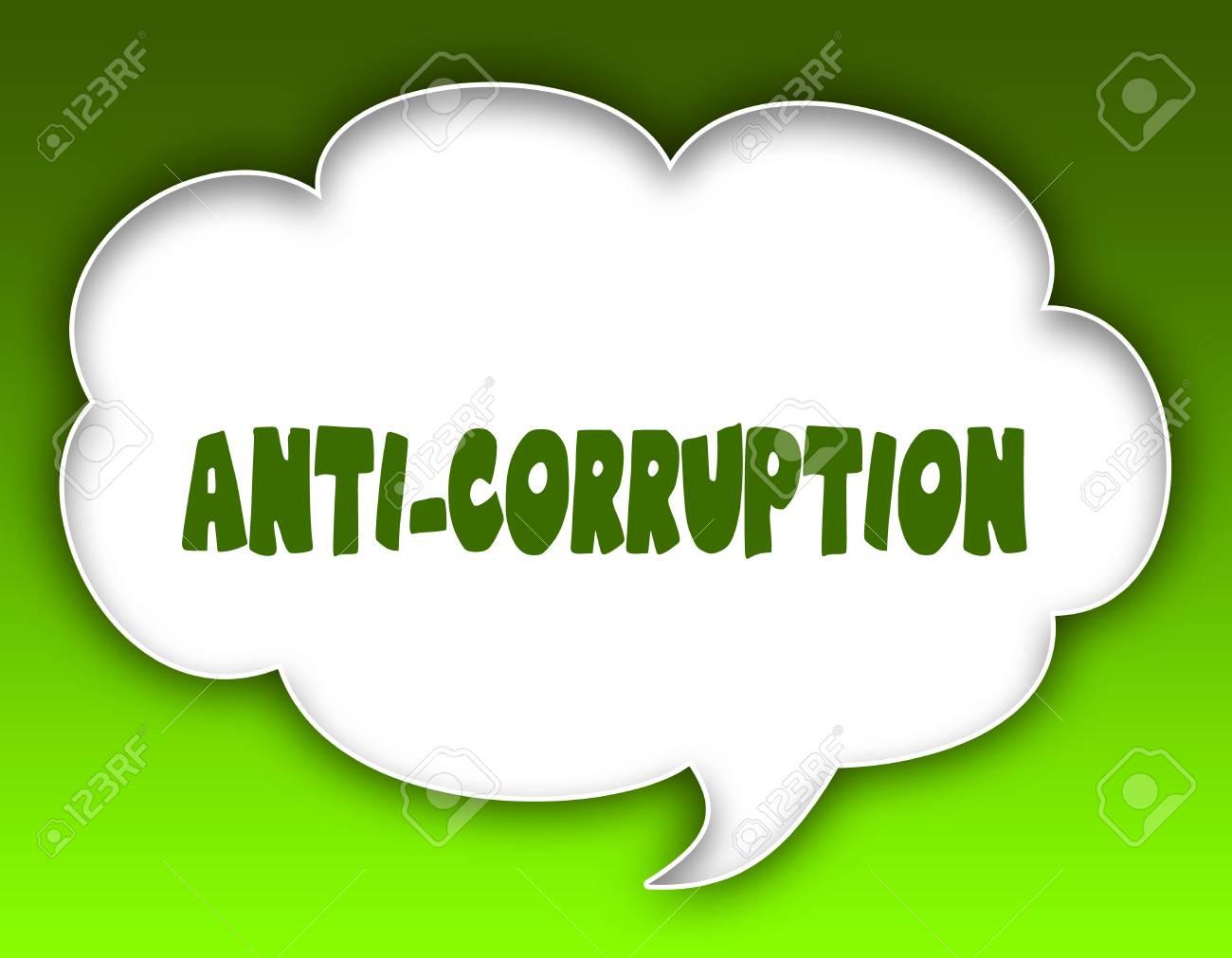 anti corruption speech