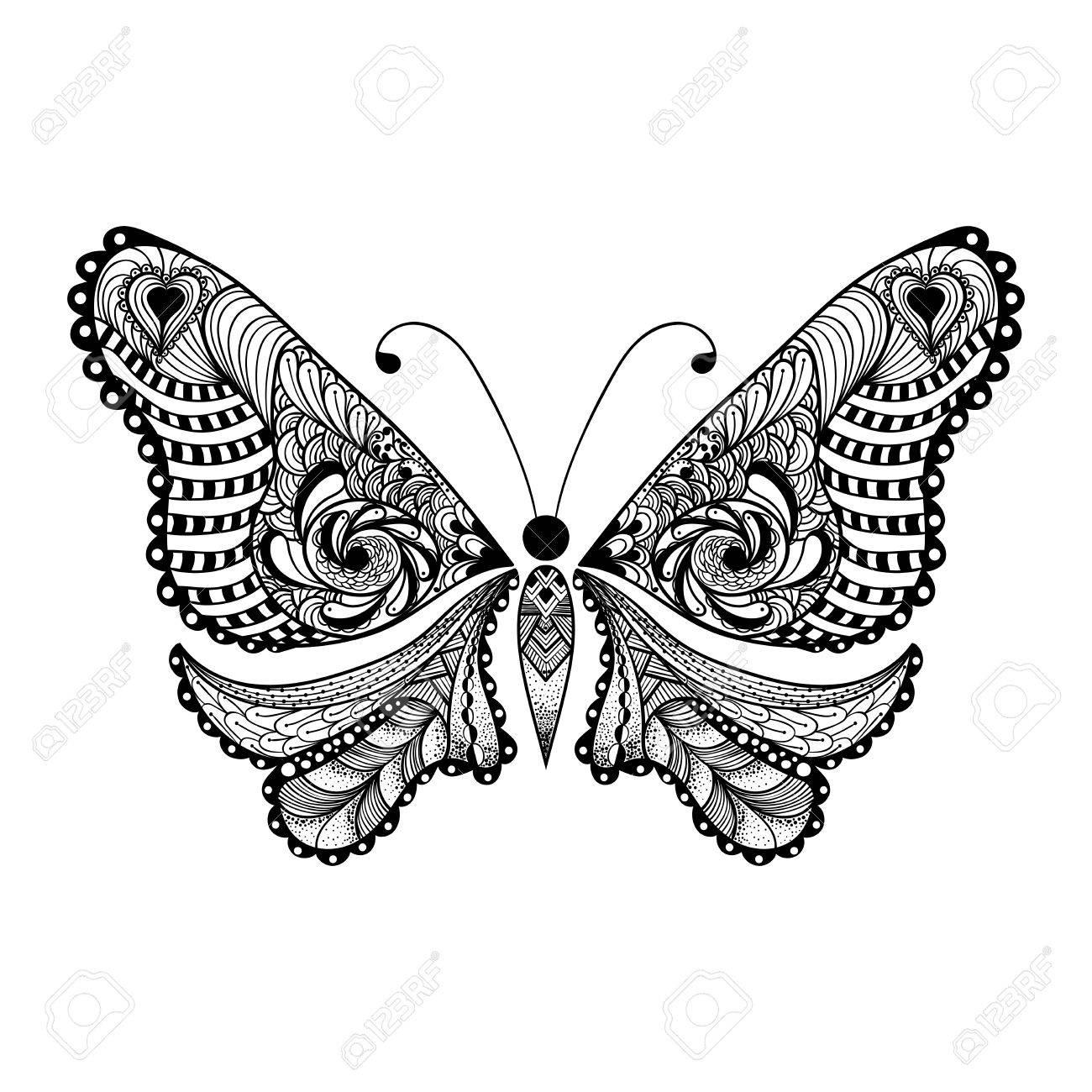 Moderno Mariposa Enmarcado Modelo - Ideas Personalizadas de Marco de ...