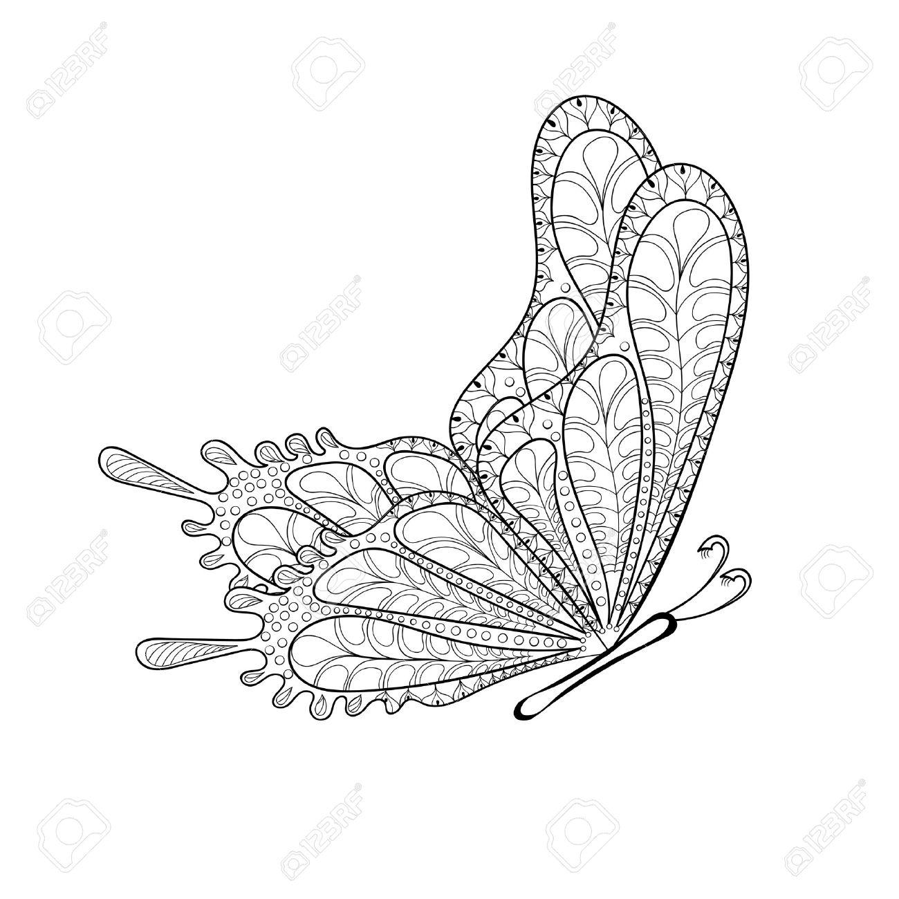 Ausmalbilder Für Erwachsene Schmetterling : Sch N Schmetterling Malvorlagen F R Erwachsene Ideen Entry Level