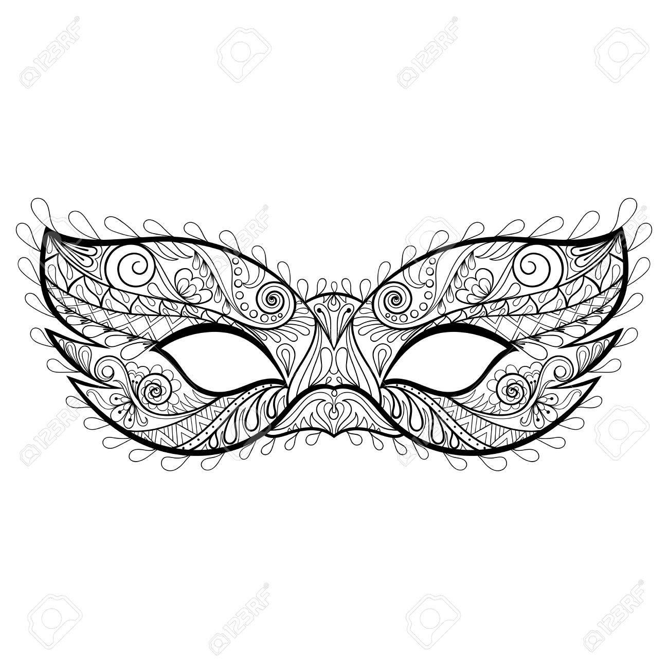 Gemütlich Maske Druckbare Vorlage Bilder - Entry Level Resume ...
