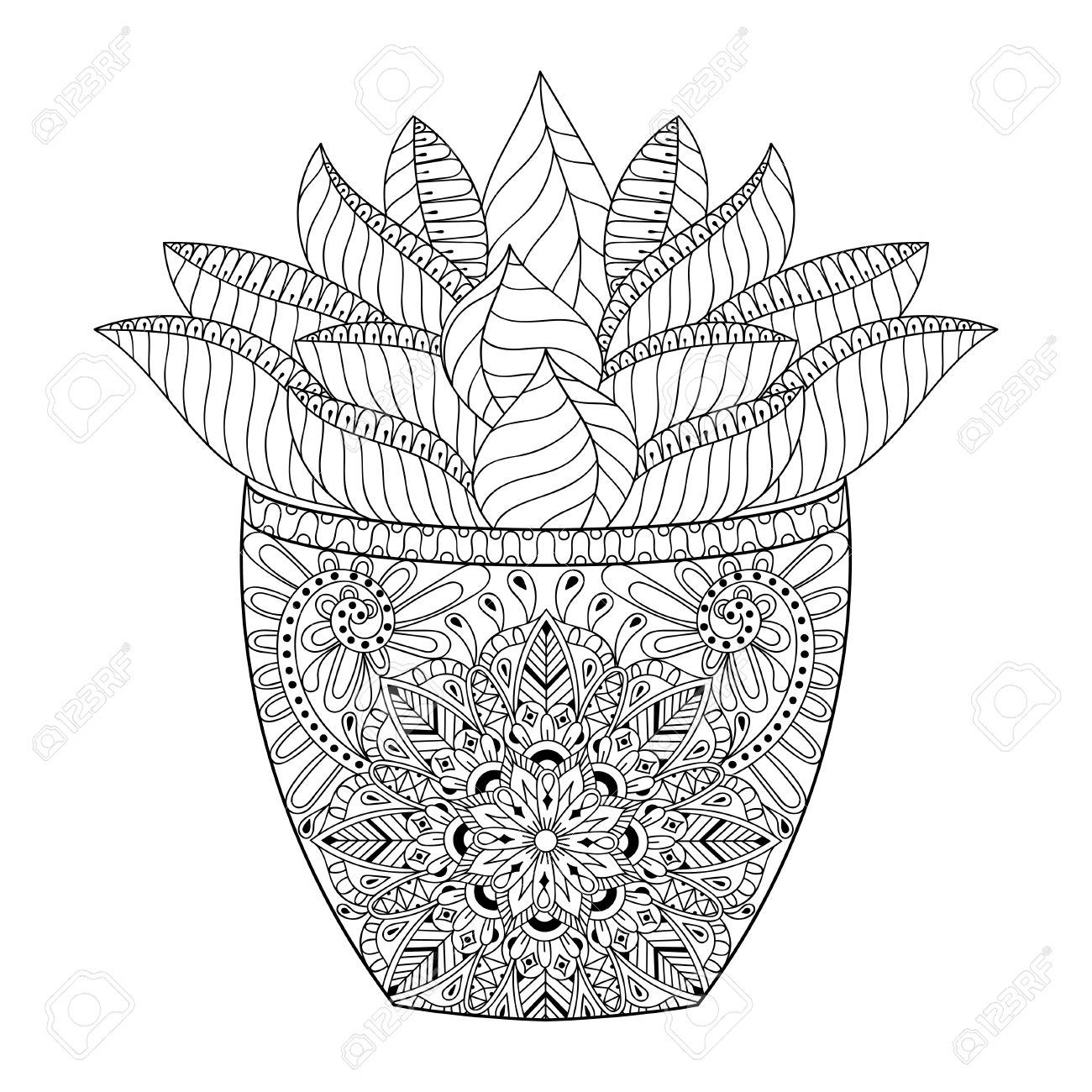 Desert Coloring Pages - GetColoringPages.com | 1300x1300
