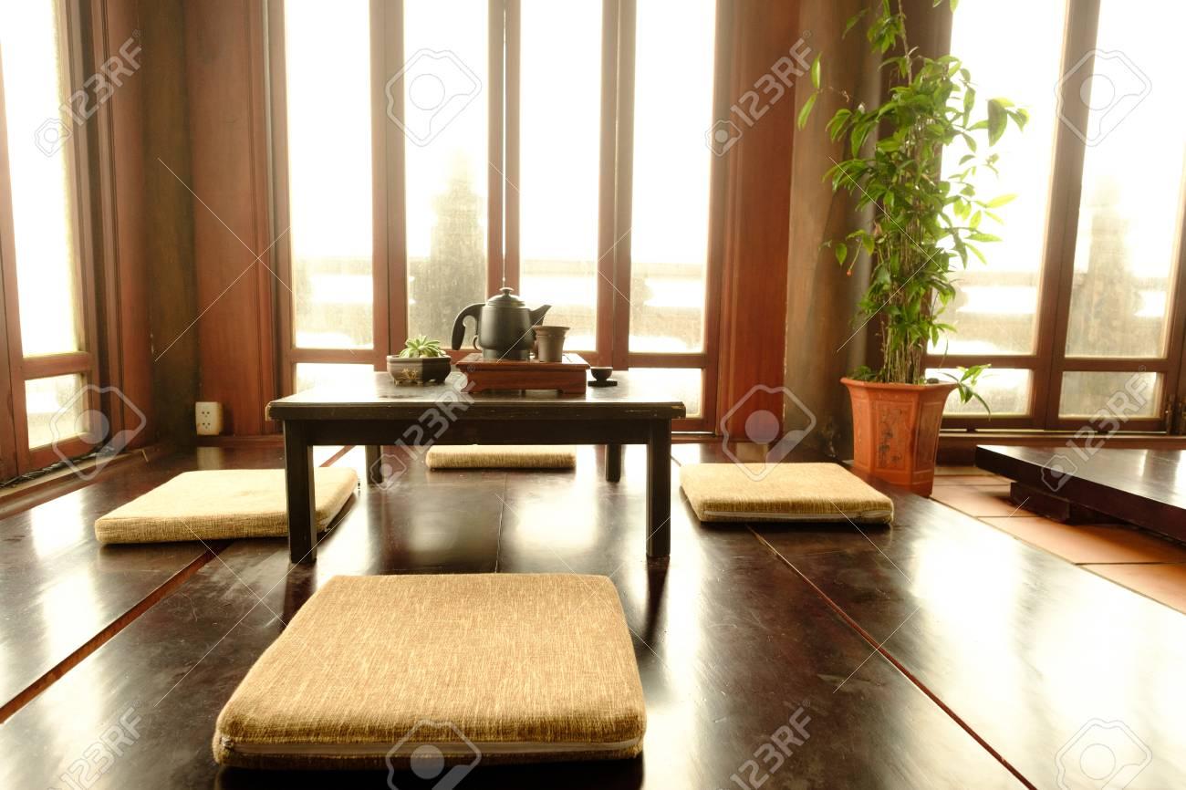 Beauty Traditional Japanese Tea Room View In Bana Hills Danang