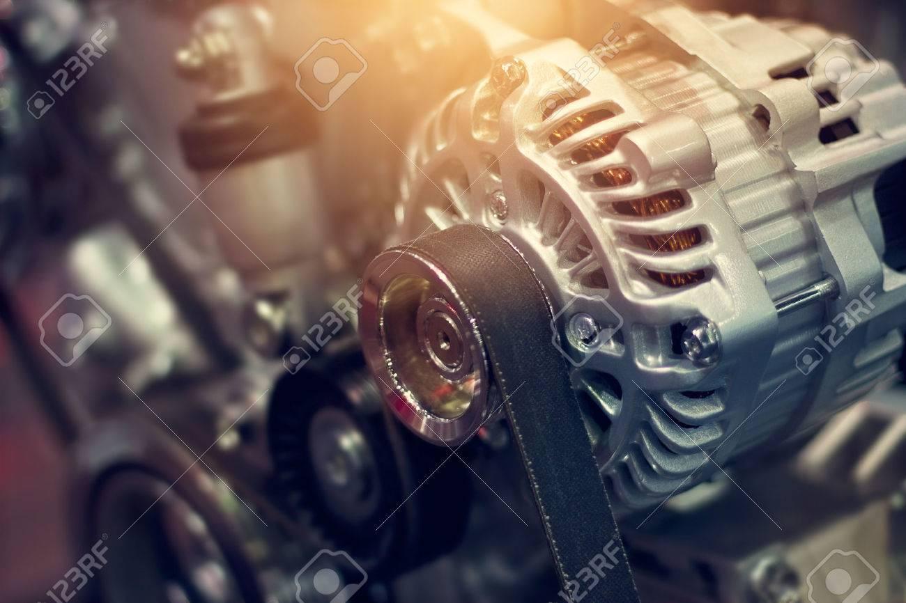 colorful car engine part - 50573918