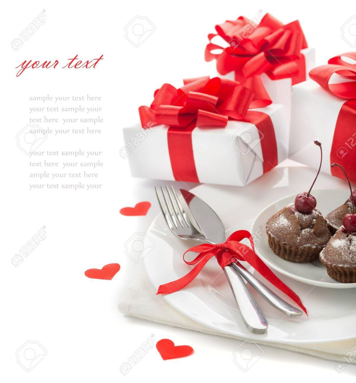 Das Konzept Des Ferien Menu Zum Valentinstag Geburtstag Schatz 8