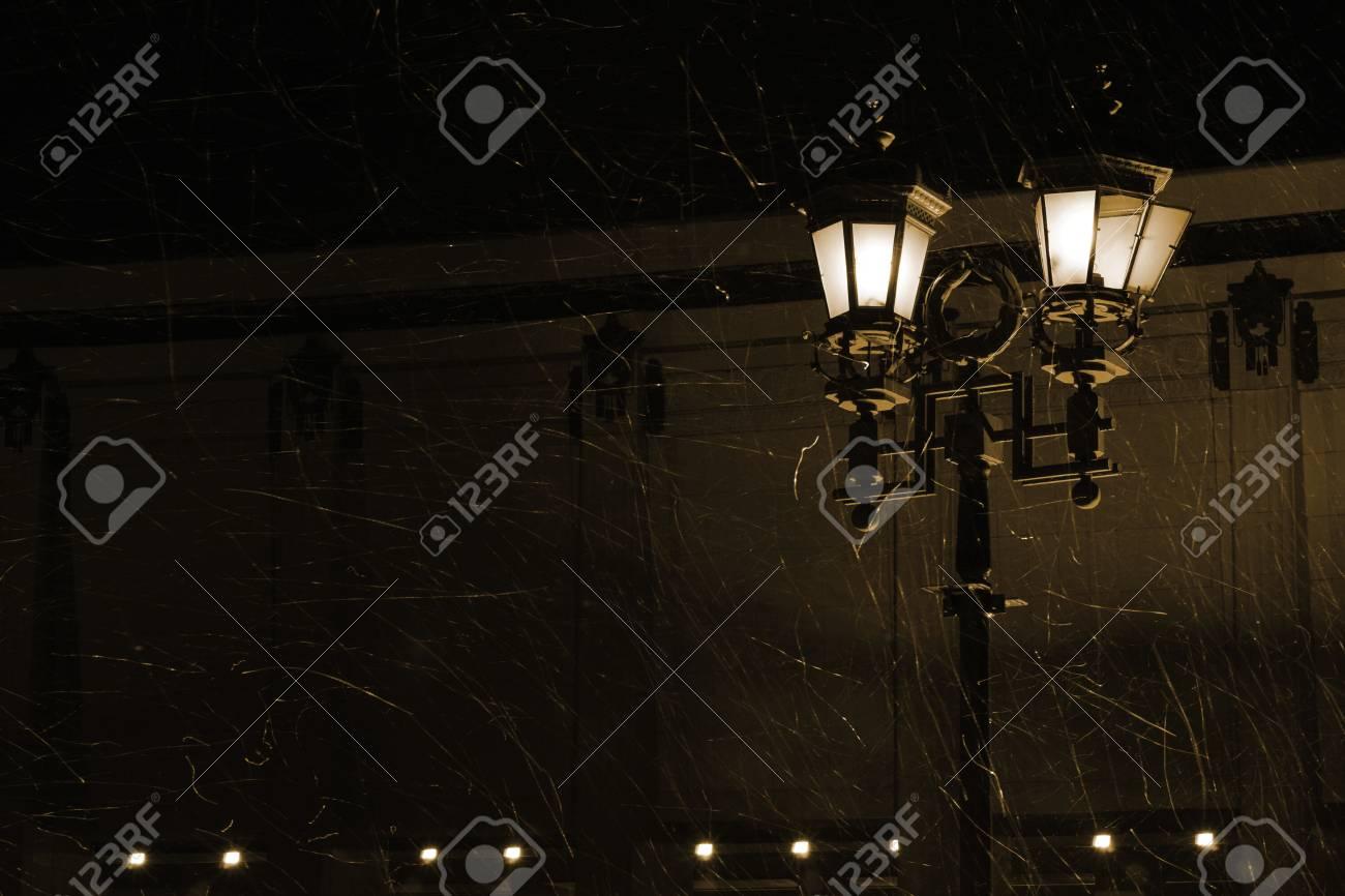 Illuminazione stradale mezzi artificiali per aumentare la