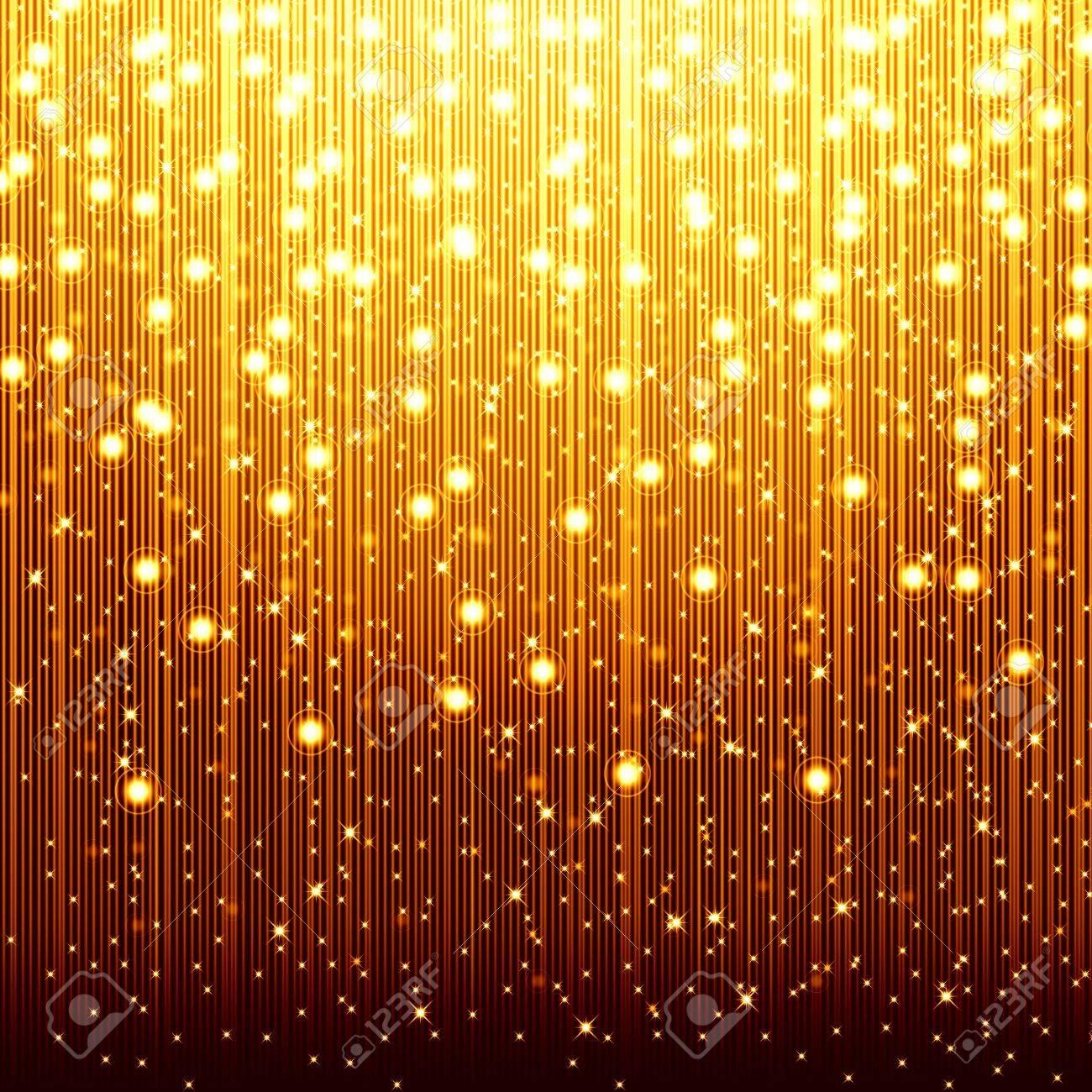 golden christmas background Stock Photo - 15321297