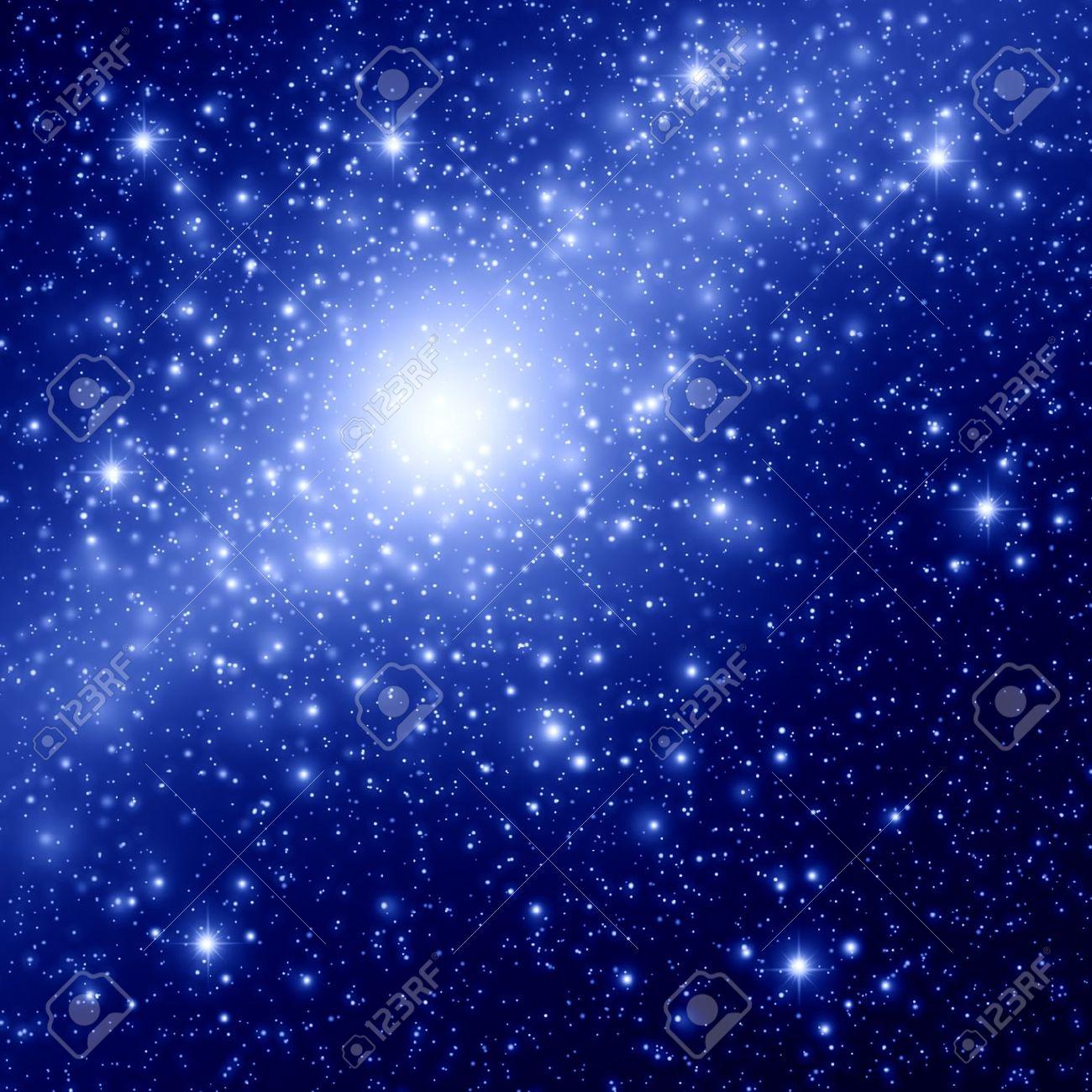 Raum und Sterne Hintergrund Standard-Bild - 16401035