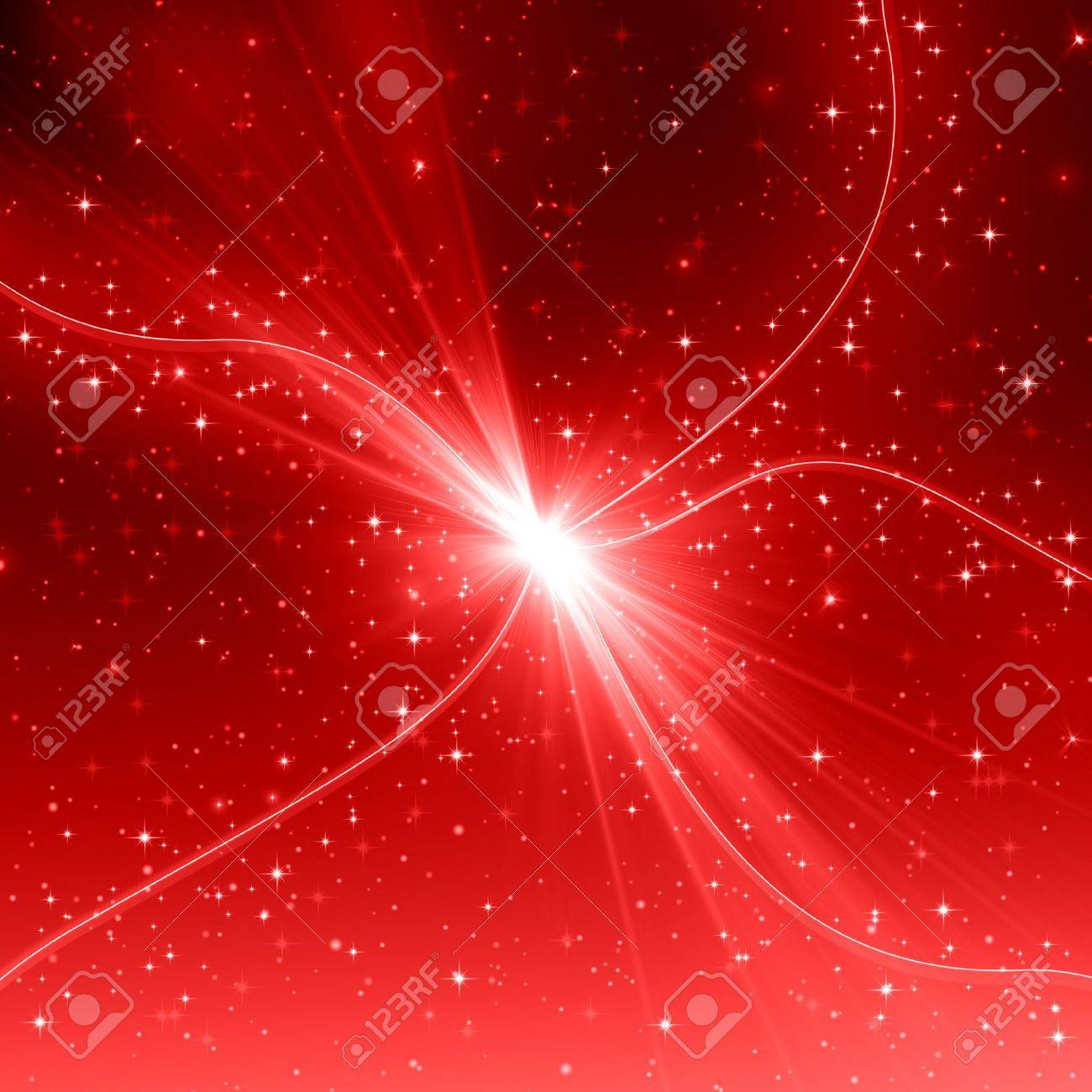 Red abstract background Stock Photo - 21493971
