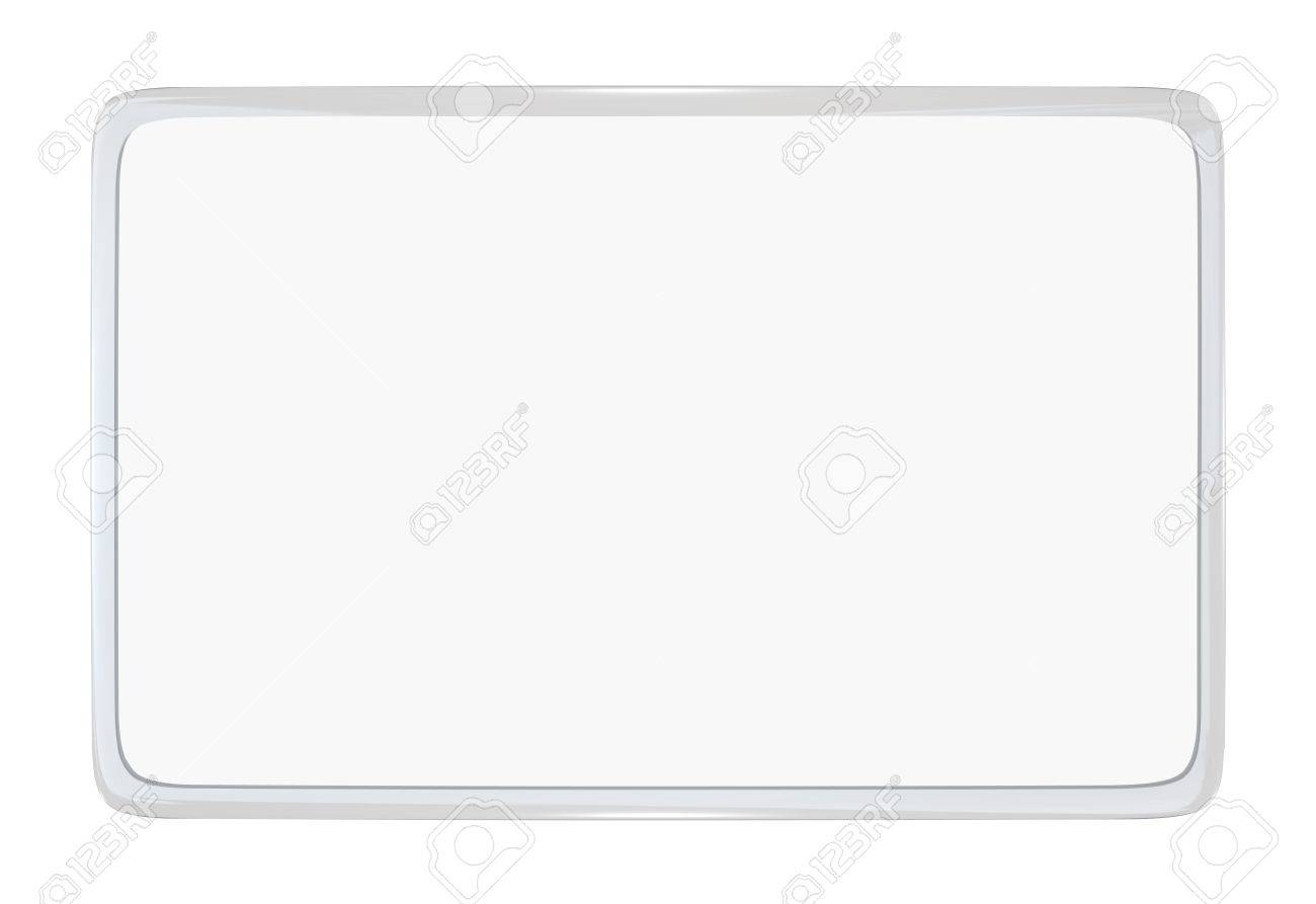 A Blank Laminated Identification ID Card Or License Stock Photo ...