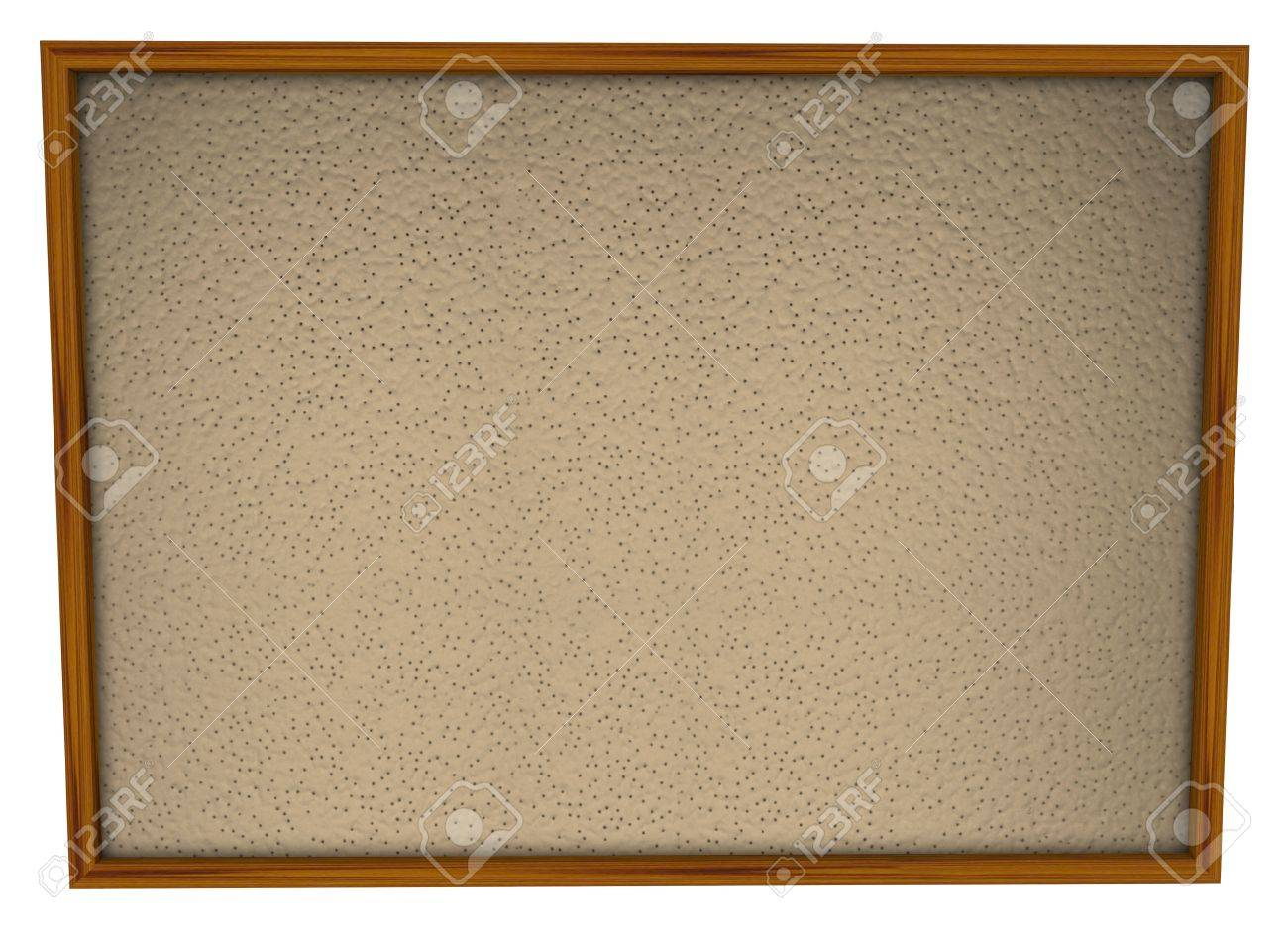 A blank bulletin board in wood frame and lots of space for you a blank bulletin board in wood frame and lots of space for you to place pictures jeuxipadfo Choice Image