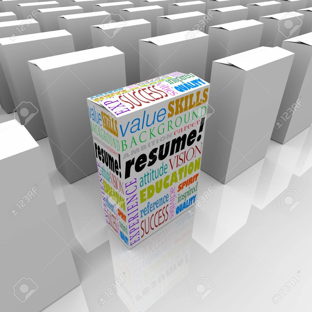 La Palabra Reanudar Y Términos Relacionados Con El Trabajo O La ...